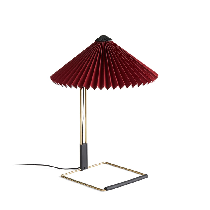 Matin LED table lamp S, oxide red by Hay