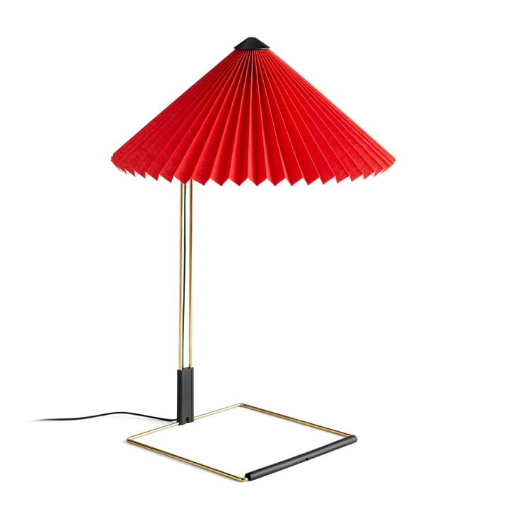 Matin LED table lamp L, bright red by Hay