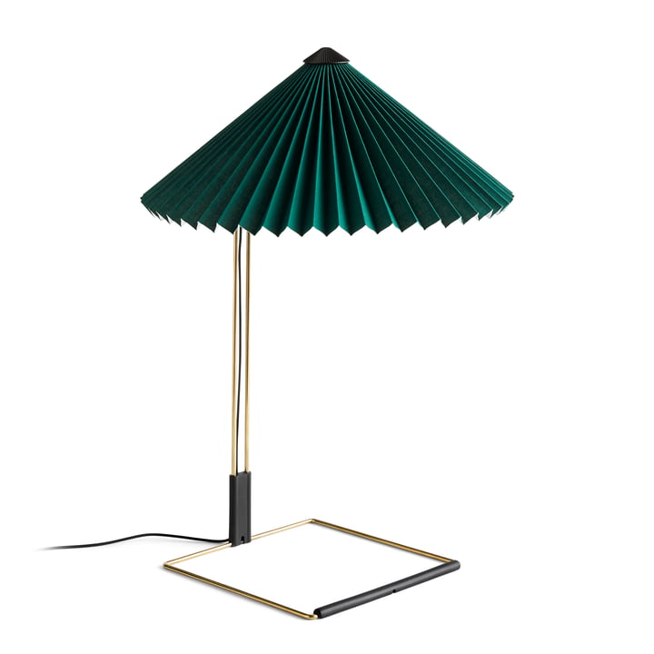 Matin LED table lamp L, green by Hay