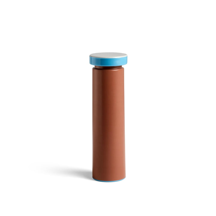 Sowden salt and pepper mill M, Ø 6 x H 20 cm in terracotta by Hay