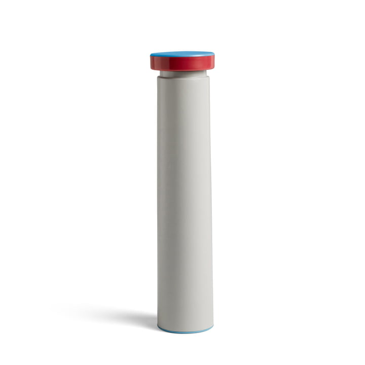 Sowden salt and pepper mill L, Ø 6 x H 26 cm in light grey by Hay