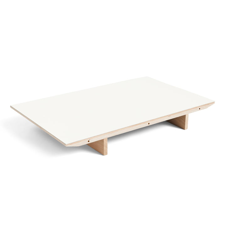 Insert for CPH30 extendable dining table, 50 x 80 cm, white laminate by Hay