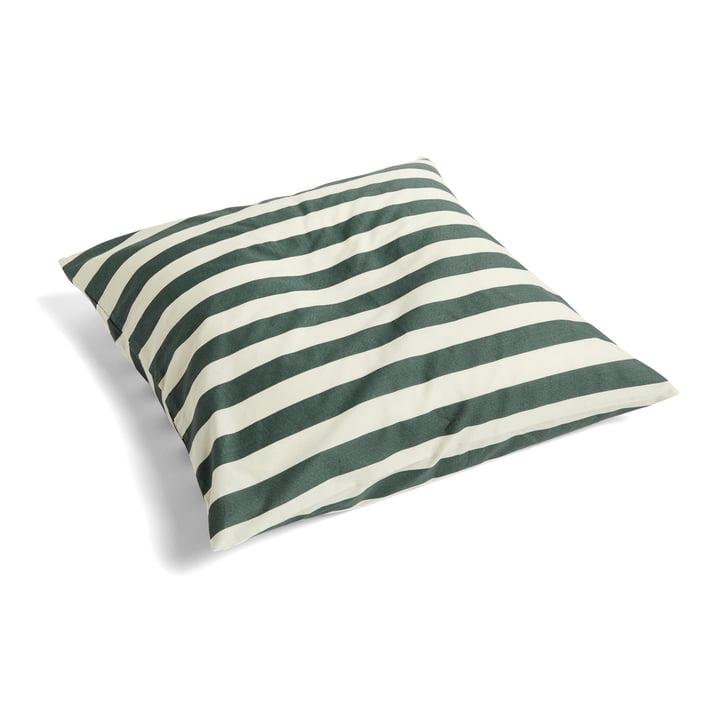 Été pillowcase 63 x 60 cm by Hay in dark green (DK)