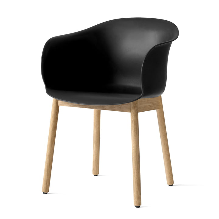Elefy chair JH30 in oak / black by & tradition