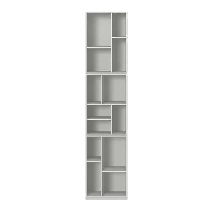 Loom bookshelf with pedestal from Montana in nordic