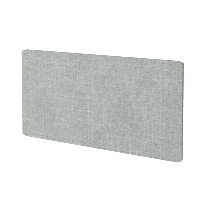 Textile panel for Montana Free shelving system in Kvadrat Remix 2 (123 grey)