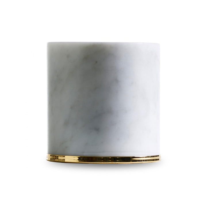 Fermaporte doorstop by Opinion Ciatti in white / gold