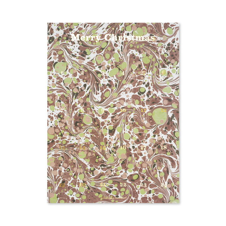Marbling Advent Calendar by ferm Living