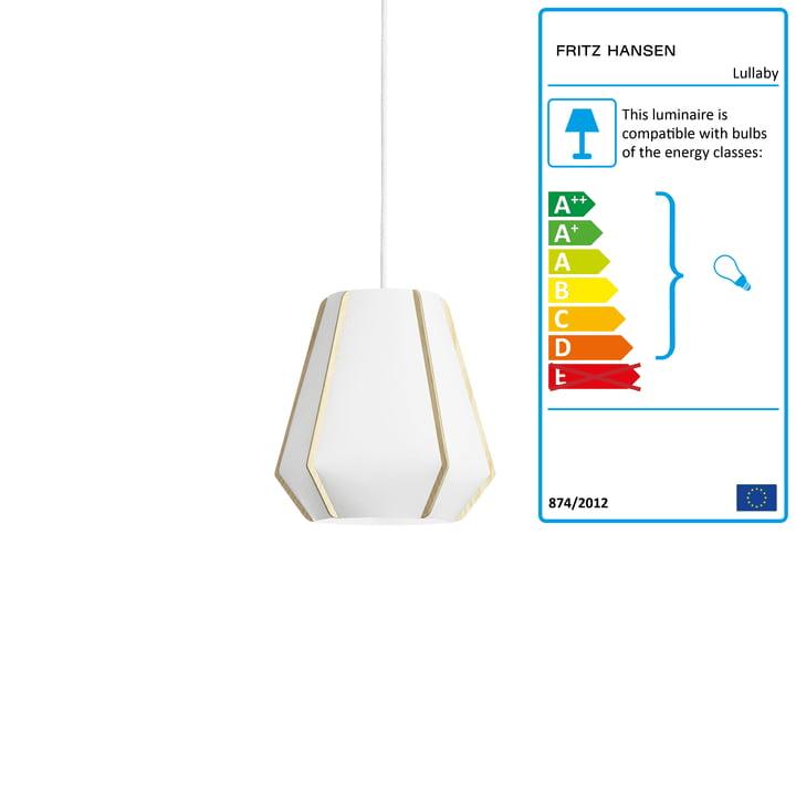 Lullaby Pendant lamp P1 by Fritz Hansen