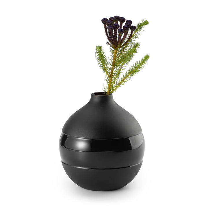 Negretto Vase S, black by Philippi