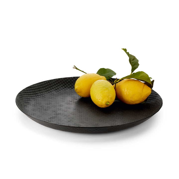 Outback tray Ø 37 cm, black from Philippi with fruit