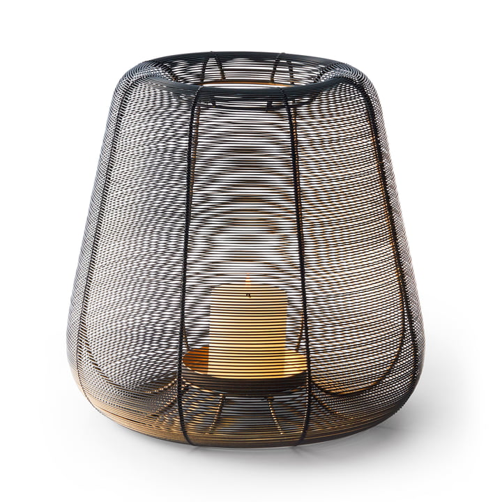 Luanda Lantern L, black by Philippi