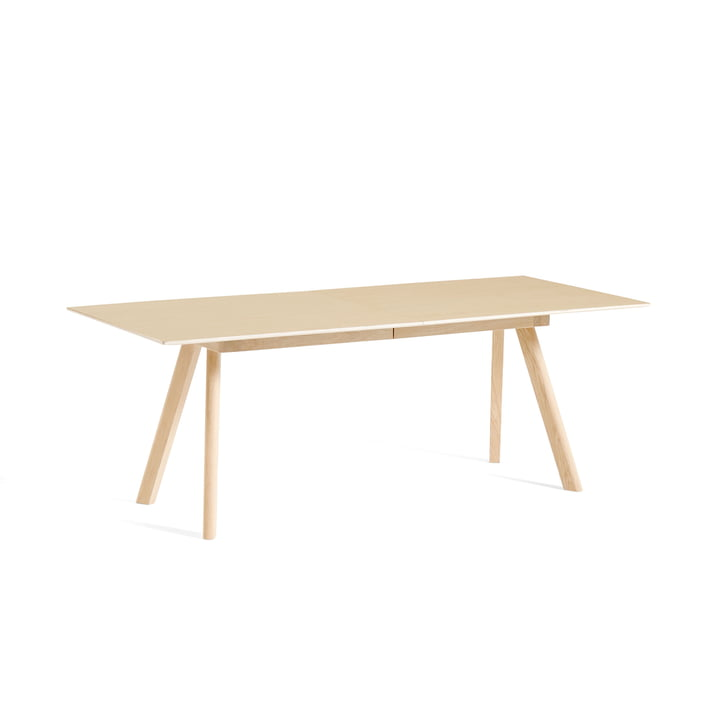 Hay - Copenhague CPH30 extendable dining table, L 160/310 x W 80 x H 74 cm, oak matt lacquered