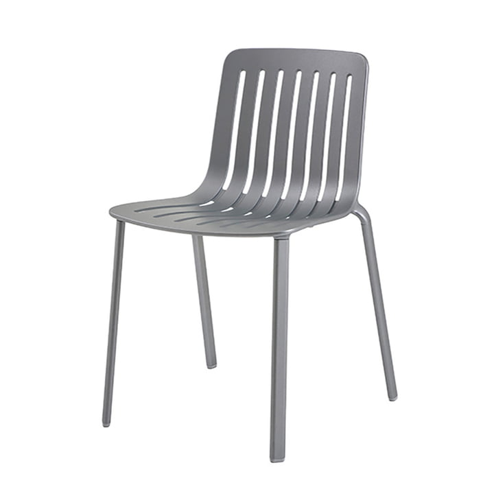 Plato chair by Magis in metal grey