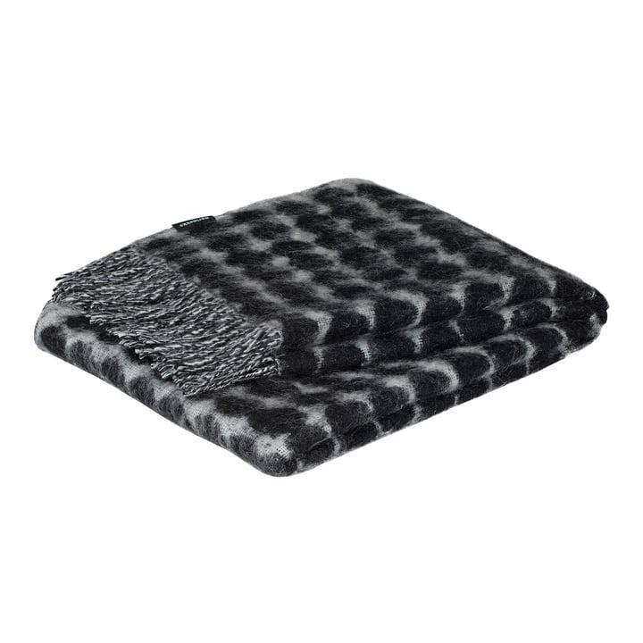 Räsymatto rug 70 x 180 cm from Marimekko in black / off-white