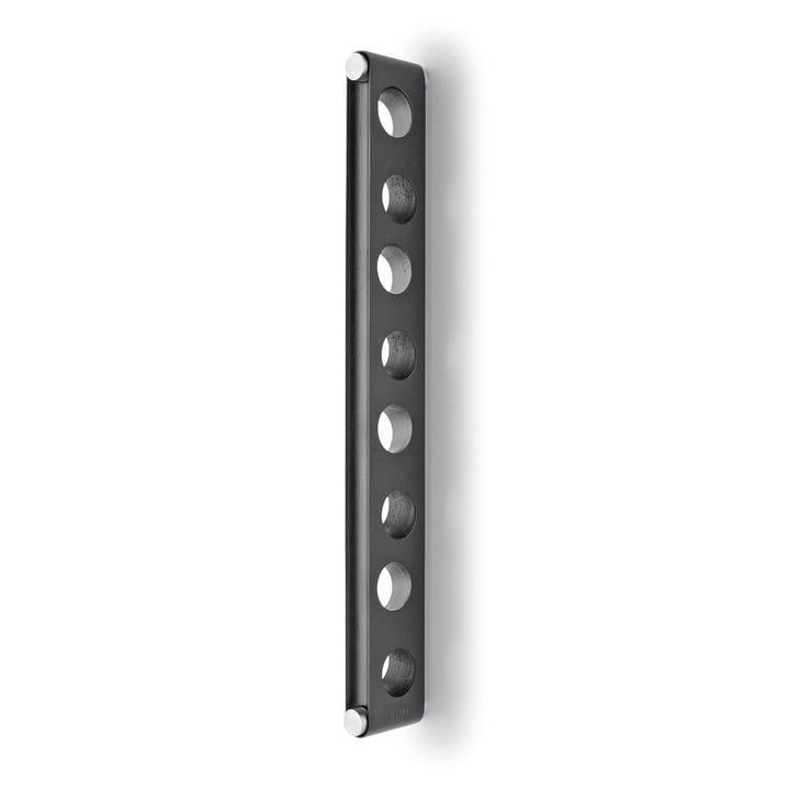 Nordic Kitchen wall mounted wine rack by Eva Solo in black