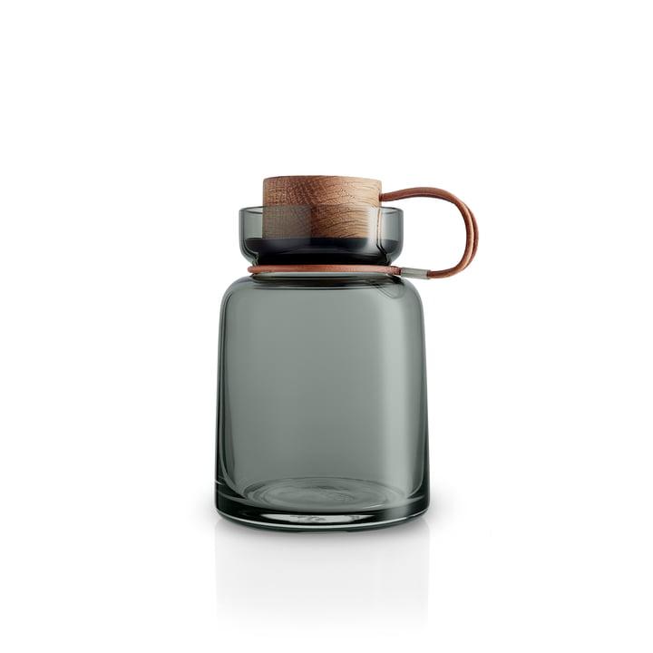 Silhouette storage jar 0,7 l from Eva Solo in smokey grey