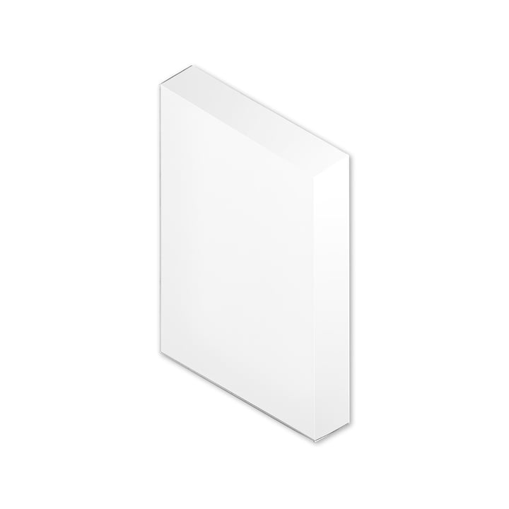 Facet mirror S 20 x 40 cm from Puik in silver