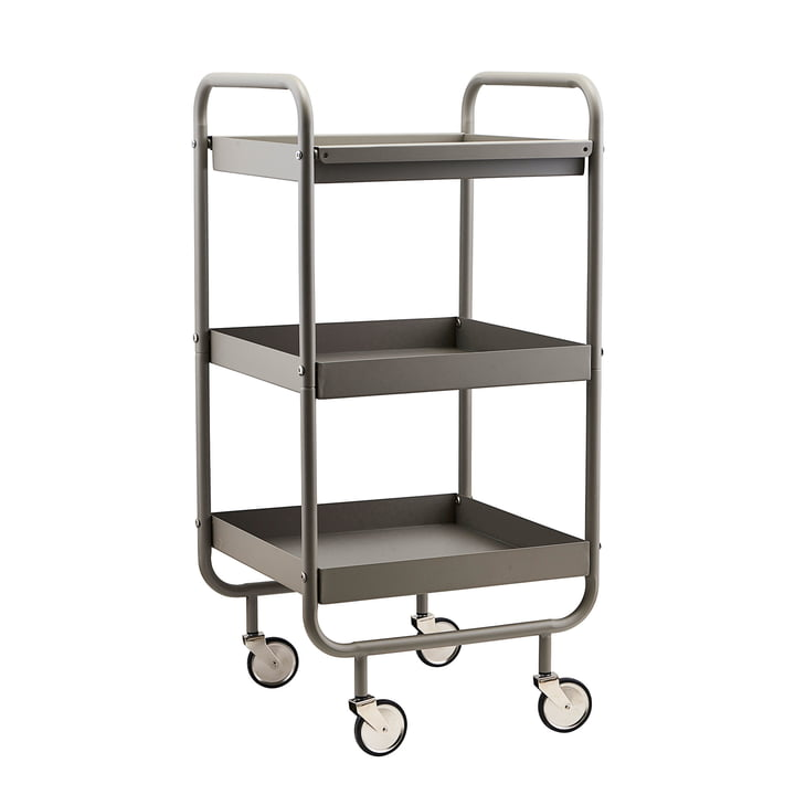 Serving trolley Roll by House Doctor in grey