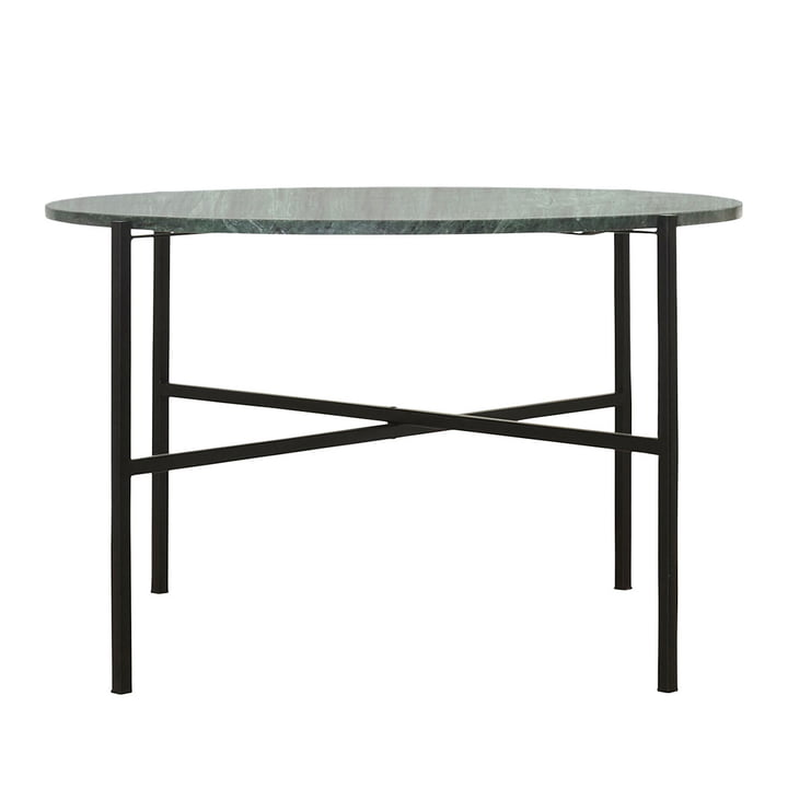 The Green coffee table Ø 70 x H 45 cm by House Doctor in marble green