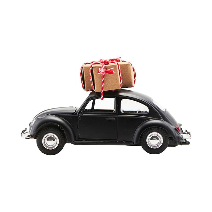 Xmas Cars Deco Cars 12,5 cm by House Doctor in black