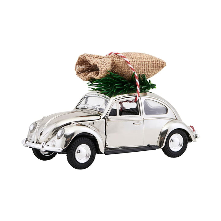 Xmas Cars Deco Cars 12,5 cm from House Doctor in Chrome
