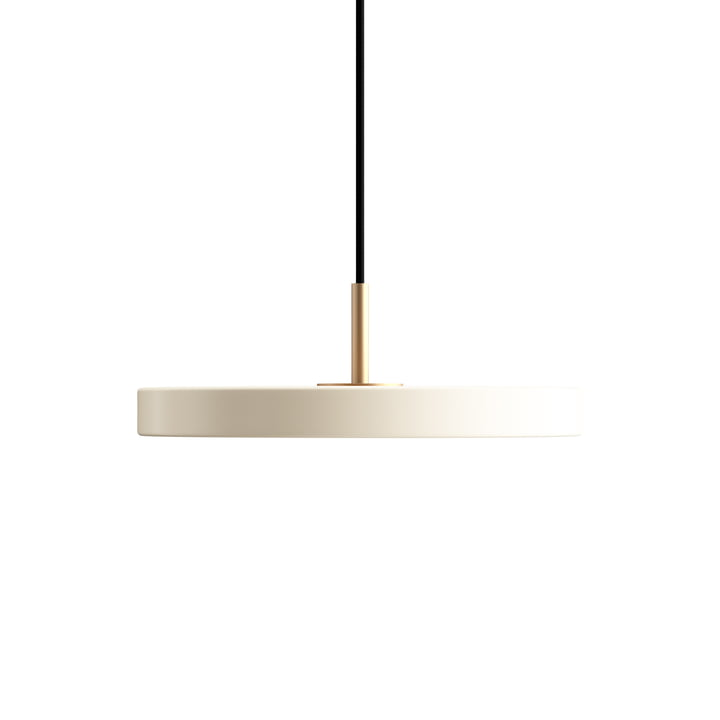 Asteria Mini LED pendant light by Umage in pearl