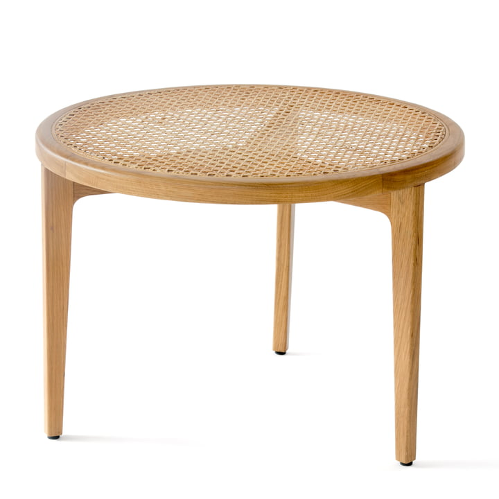 Le Roi coffee table Ø 60 x H 42 cm from Norr11 in oak nature
