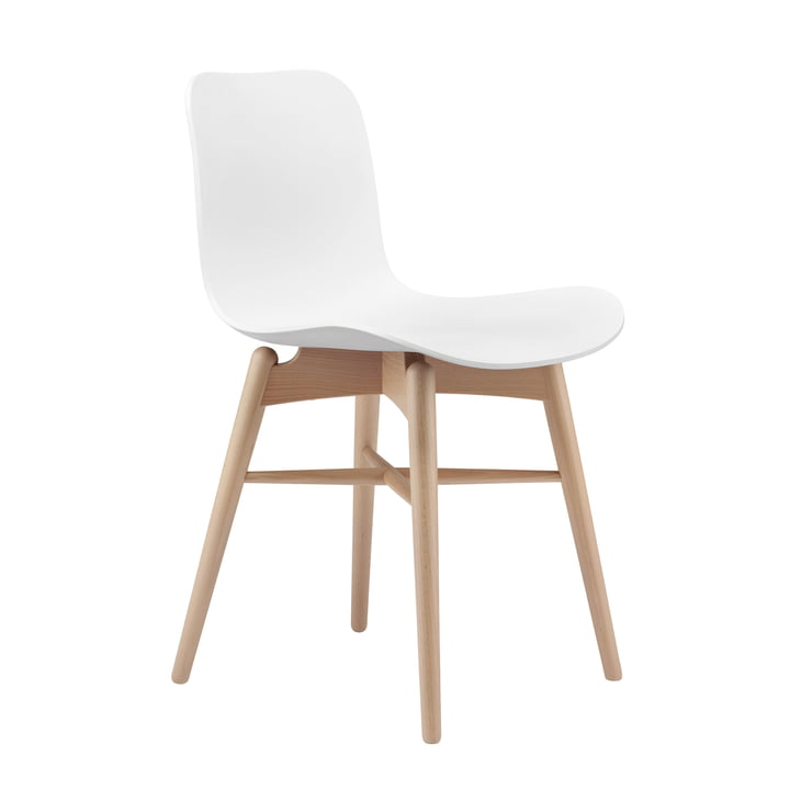 Langue Original chair by Norr11 in beech nature / off-white