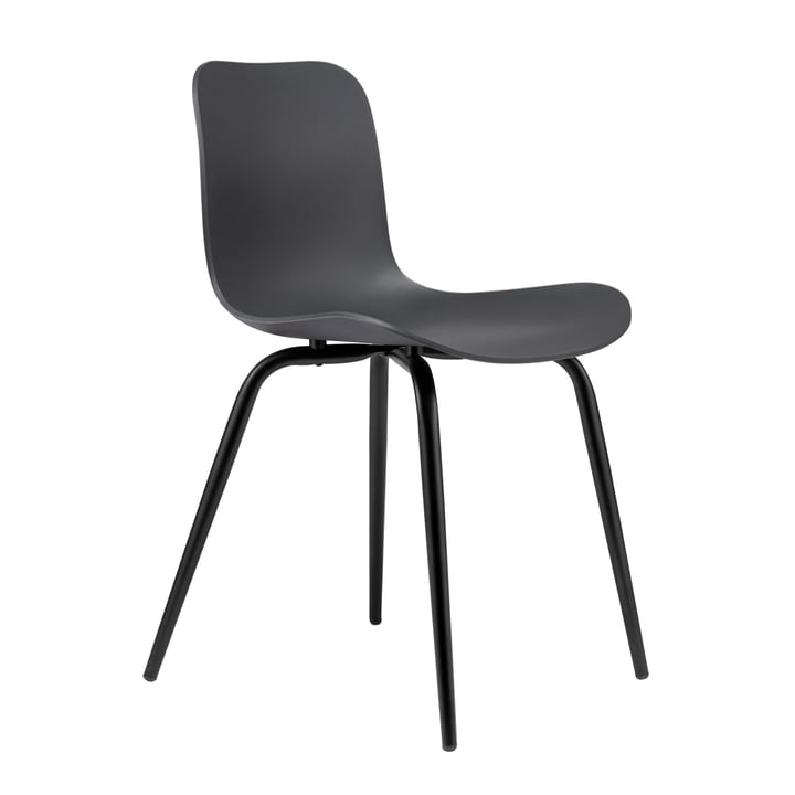 Langue Avantgarde chair by Norr11 in Avantgarde black / anthracite black