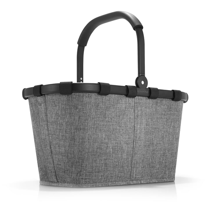 carrybag by reisenthel in frame twist silver