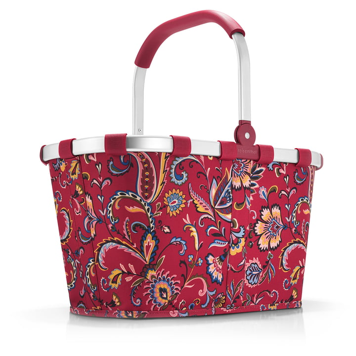 carrybag from reisenthel in paisley ruby
