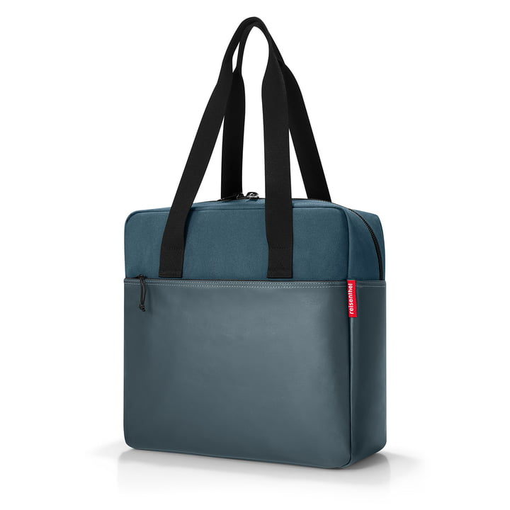 performer hand luggage bag from reisenthel in canvas blue