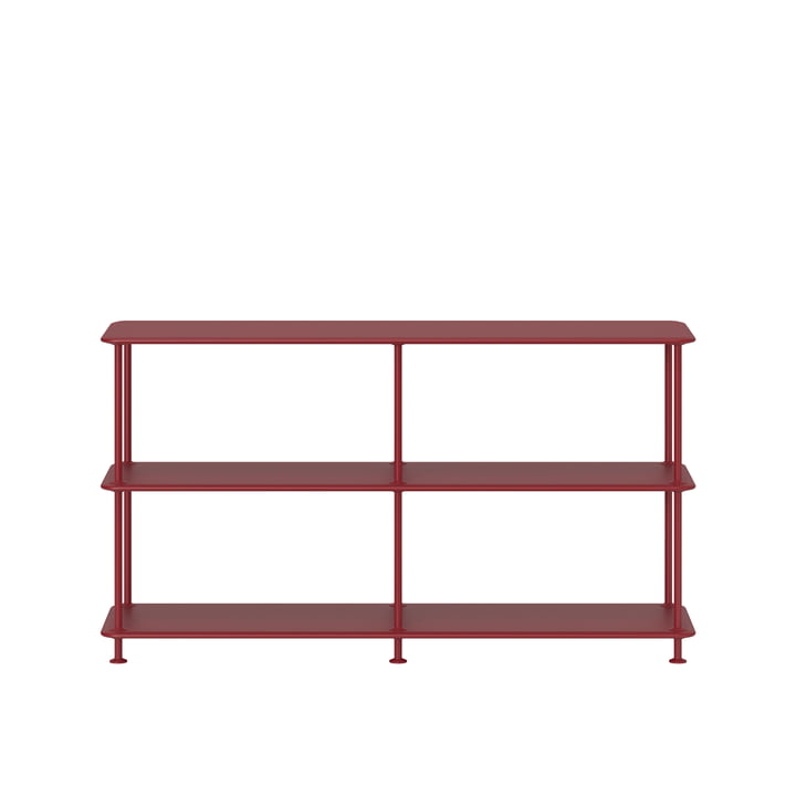 Free shelving system 220000 from Montana in beetroot