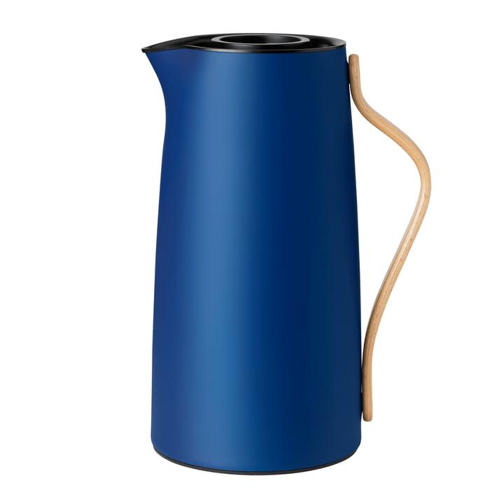 Emma coffee vacuum jug 1.2 l from Stelton in dark blue