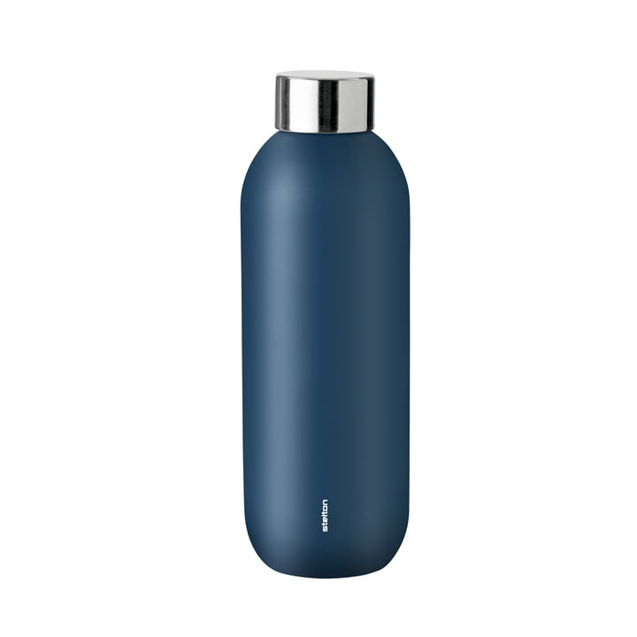 Keep Cool drinking bottle 0,6 l from Stelton in dusty blue