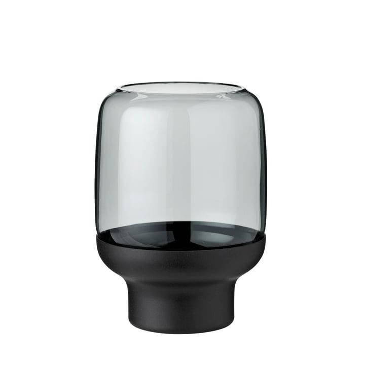 Hoop tealight holder Ø 10 x H 14 cm from Stelton in smoke