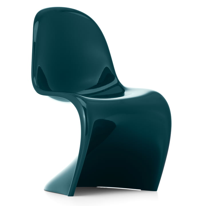 Panton Chair Classic by Vitra in petrol (Limited Edition)