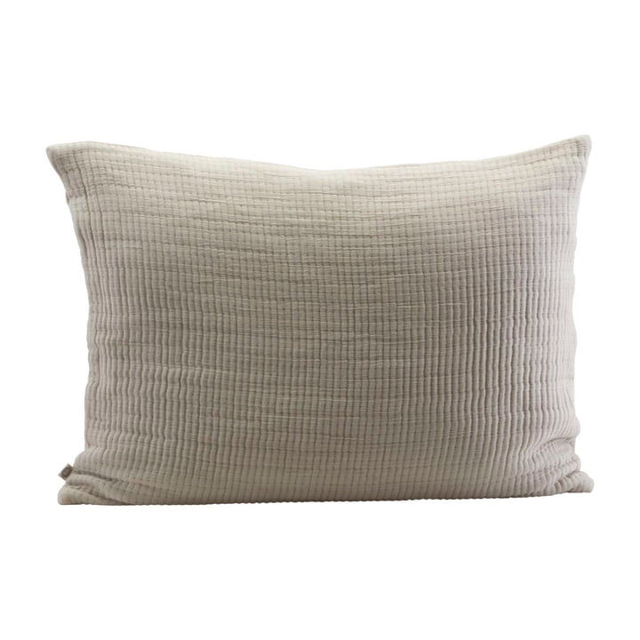 Lia pillowcase 80 x 60 cm by House Doctor in sand