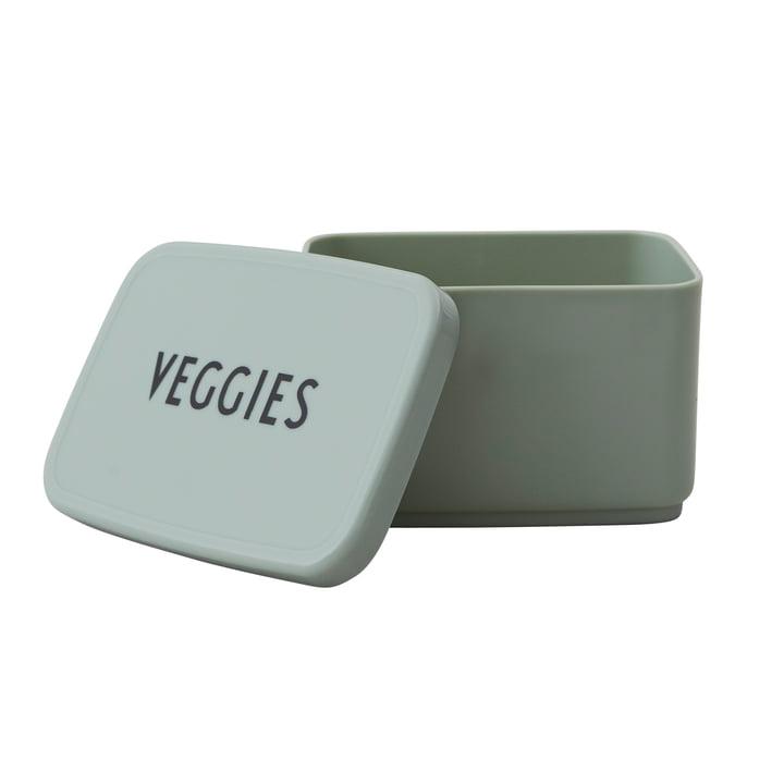 Snack Box Veggies by Design Letters in dark green