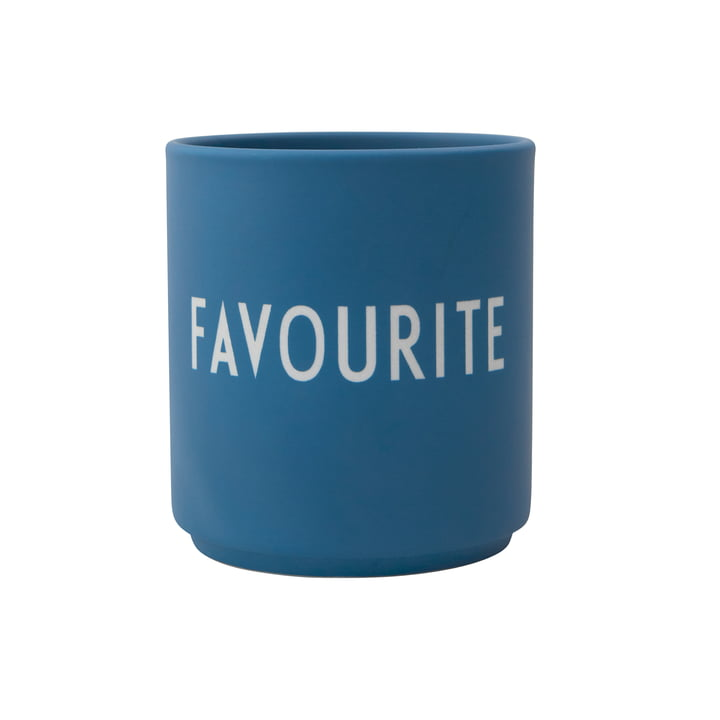 AJ Favourite porcelain mug Favorite by Design Letters