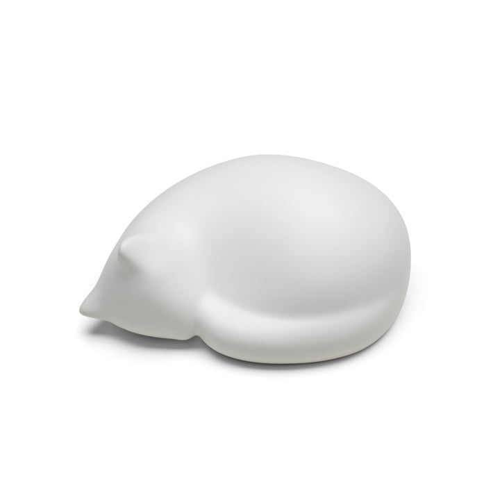Resting Cat small by Vitra in white