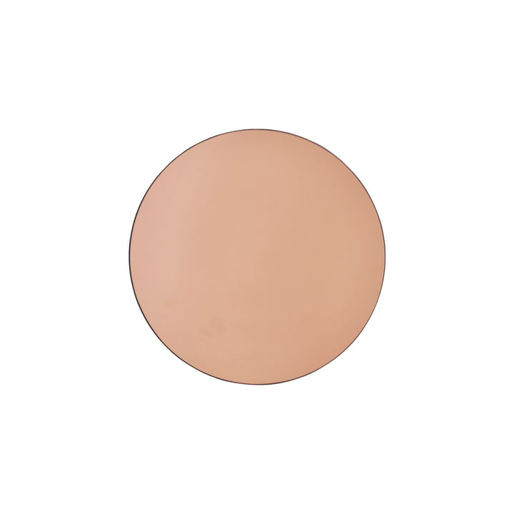Walls mirror Ø 50 cm from House Doctor in rose gold