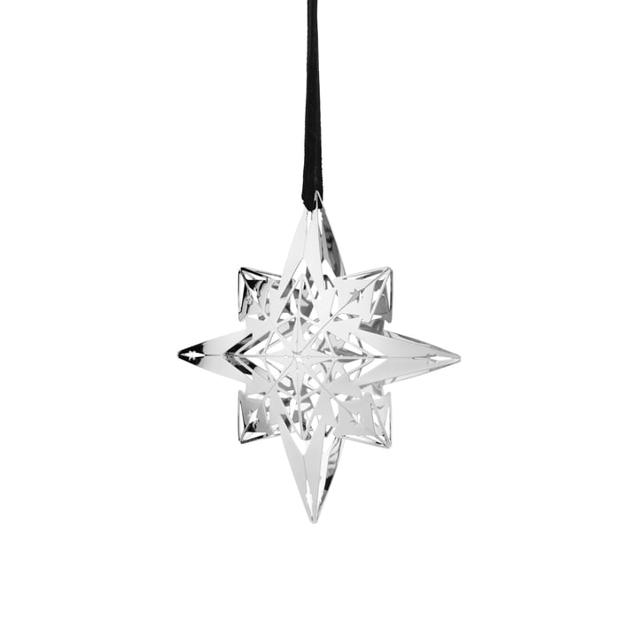 Karen Blixen Christmas star Ø 9,5 cm from Rosendahl in silver plated