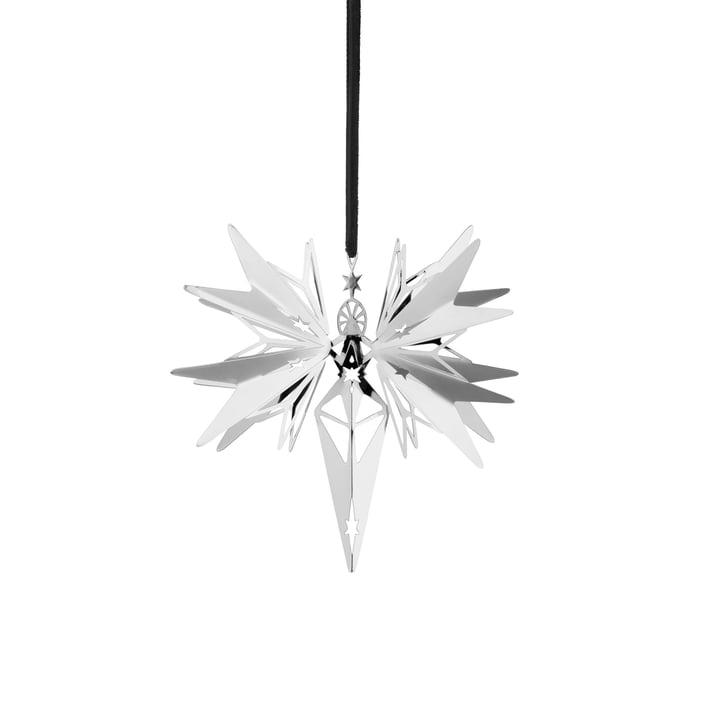 Karen Blixen Christmas Angel Ø 10,5 cm from Rosendahl in silver plated
