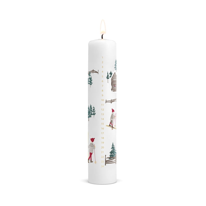 Christmas Calendar Candle 2019 by Holmegaard