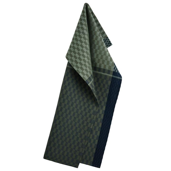 Colours tea towel 50 x 80 cm, army green by Georg Jensen Damask