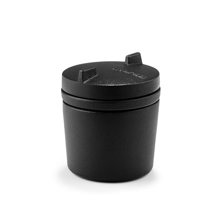 SPICE '14 Spice pot with mortar function Ø 8 x H 9.5 cm from Morsø in black
