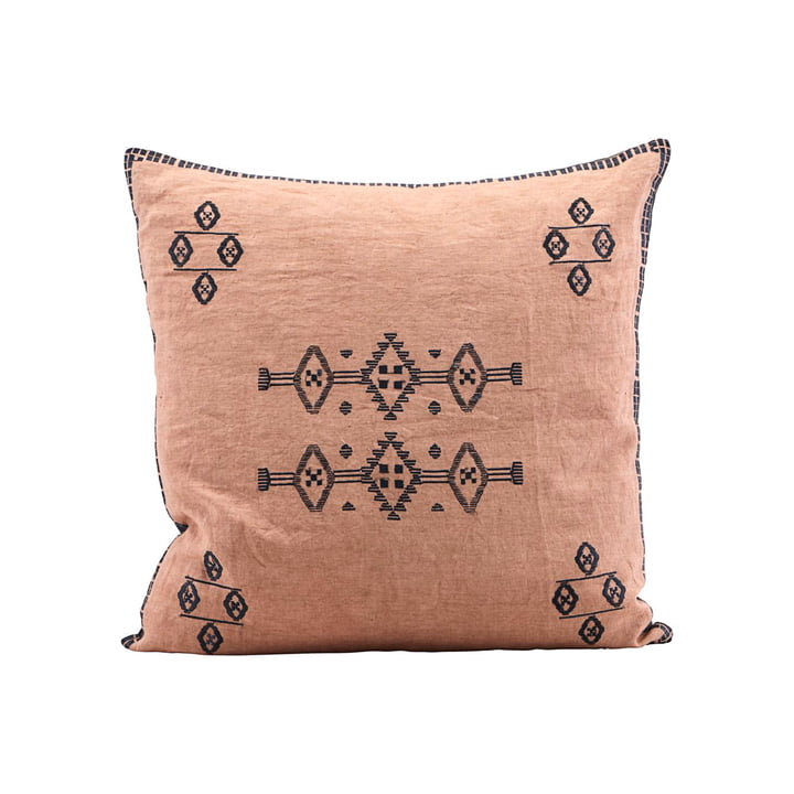 Inca pillowcase, 50 x 50 cm, nude by House Doctor