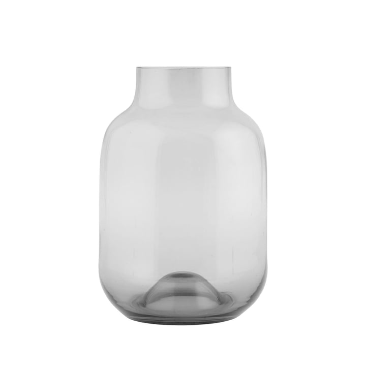 Shaped vase by House Doctor in grey